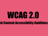 Web content Accessiblity Guidelines